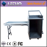12U heavy duty pro drum aluminum storage flight case hardware