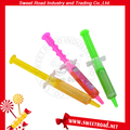 Injection Syringe Toy with Fruity Jam Liquid Candy