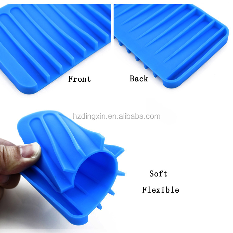 Promotion Gift Fancy Unbreakable Silicone Hotel Soap Dish