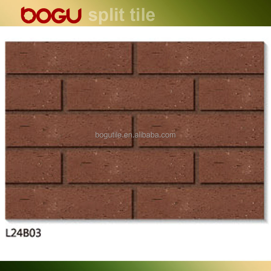 Scuffing design external wall facing cladding mat finish ceramic clinker tile best price