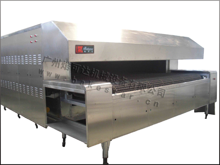 Automatic bread production line Gas/Electricity small tunnel oven