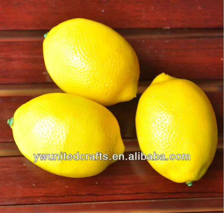 Incredibly Realistic Lemon & Artificial Fruit