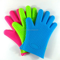 Yangjiang Professional Kitchen Silicone Rubber Oven Mitts