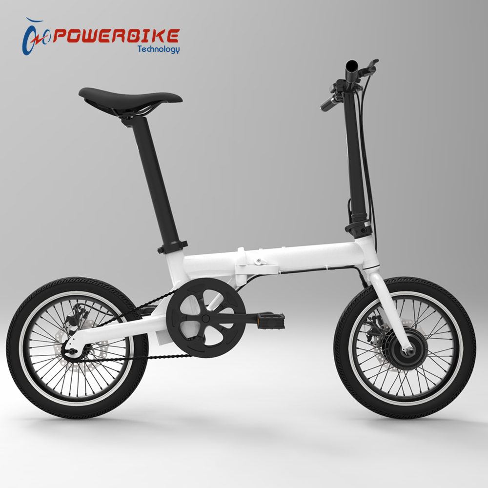 Factory direct 250w 16 inch portable folding electric <strong>bike</strong> with CE certify
