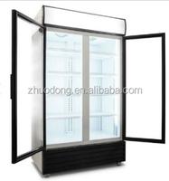High quality walk in display wine and beverage refrigerator freezer