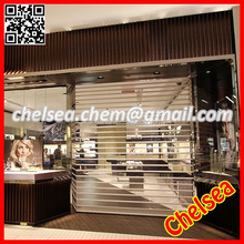 Transparent automatic commercial roller shutter door , roller shutter commercial door