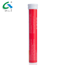 Vitamin C effervescent drink tablet tubes OEM/ODM china supplier