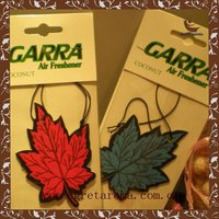 Promotional gifts best hot sale wholesale tree shape paper air freshener for car