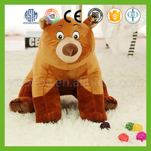 OEM high quality fancy cute stuffed big pinkbear toy for lover kids