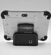 OEM wholesale 4G WIFI BT4.0 GPS 2G+32GB Android vehicle 10 inch Rugged Tablet PC