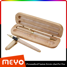 Handmade Double Pens Wooden Pen Box