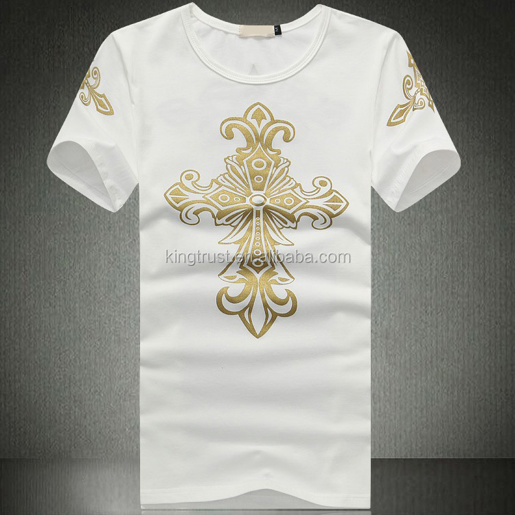 Top Selling Full Print T Shirt Fancy Design T Shirts With
