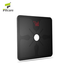 Factory supply customized WIFI smart body fat scale with free APP