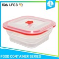 Fresh food preserving box kitchen collapsible silicone bulk food containers