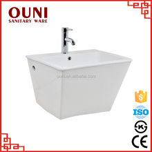 ON0512 Traditional bathroom ceramic wall fountain basin