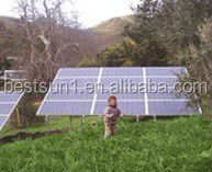 3KW china manufacturer solar panel system 1kw with MONO 200w panel design