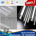 different size thick wall transparent acrylic tube for decoration