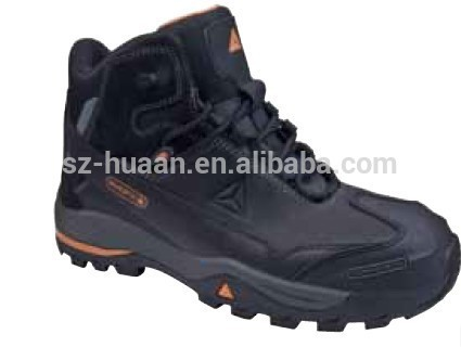 Deltaplus anti-static leather safety shoes