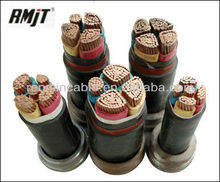 Multi Core XLPE Insulated PVC Jacket External Power Cable