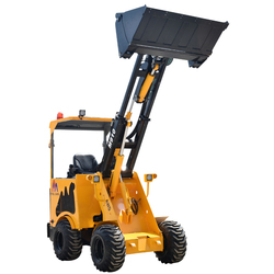 Telescopic mini wheel loader with CE certification