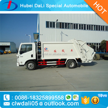 New Style Top Sale YUEJIN 6 CBM 4*2 garbage compactor truck for sale