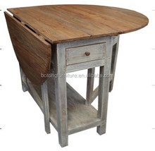 Chinese antique furniture wooden fold table LWD402
