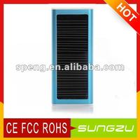 Solar Cell Phone Charger Portable/ USB Solar Charger With Keyring