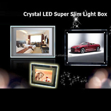 New Year Christmas Decoration Acrylic Light Box, LED Window Display Lightbox Sign, A3,A4 Poster Frame Light Signs