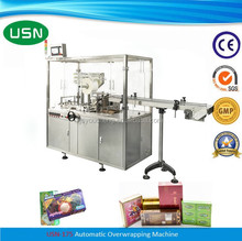 Automatic bopp film wrapping machine