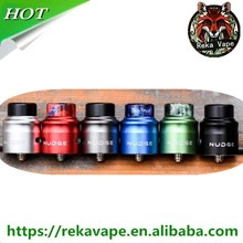 Unique Z shaped structure with large room inside, dual coils design, easy to build Wotofo Nudge RDA 24mm