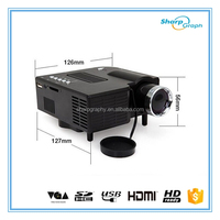 150 Lumens Full HD 3D Mini LED Beamer Proyector UC28+