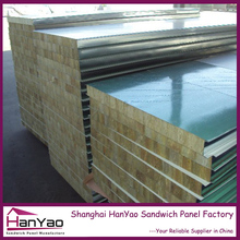 Interior Decorative Acoustic Insulated Rock Wool Sandwich Wall Panel