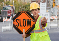 High-quality hand stop held signs for traffic control