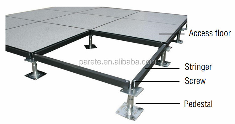 Ceramic Finish Steel Peforated Raised Access Floor Buy