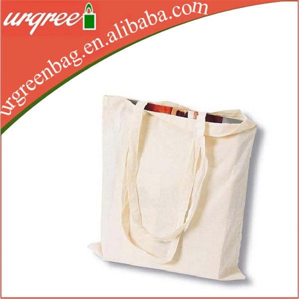Thailand cotton canvas tote gift bag long handle