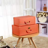 2016 Alibaba Hot Selling Gift Set Leather Storage Box with low price