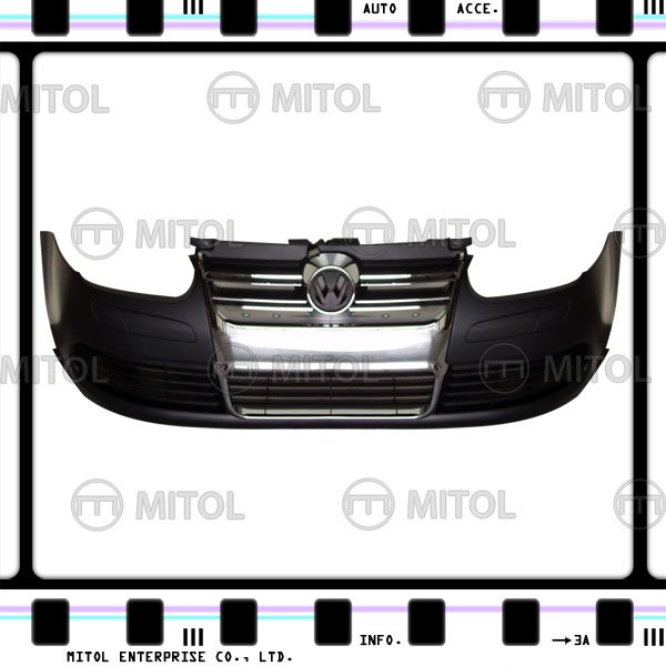 For VW Golf IV Front Bumper (R32 Look) Chrome Mld w/o hole Car Body Kits