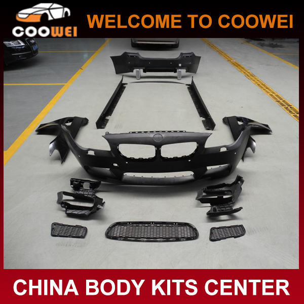 Auto Racing Car Styling Bumper Bodykit for B-M-W F10 full bodykits withe fender