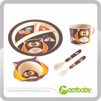 Best Price Lead Free Bamboo Dinnerware Set