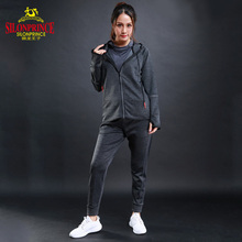 SLIONPRINCE cheap Wholesale custom finesse Athletic Tracksuit Full Zip Warm Jogging women's sport suit