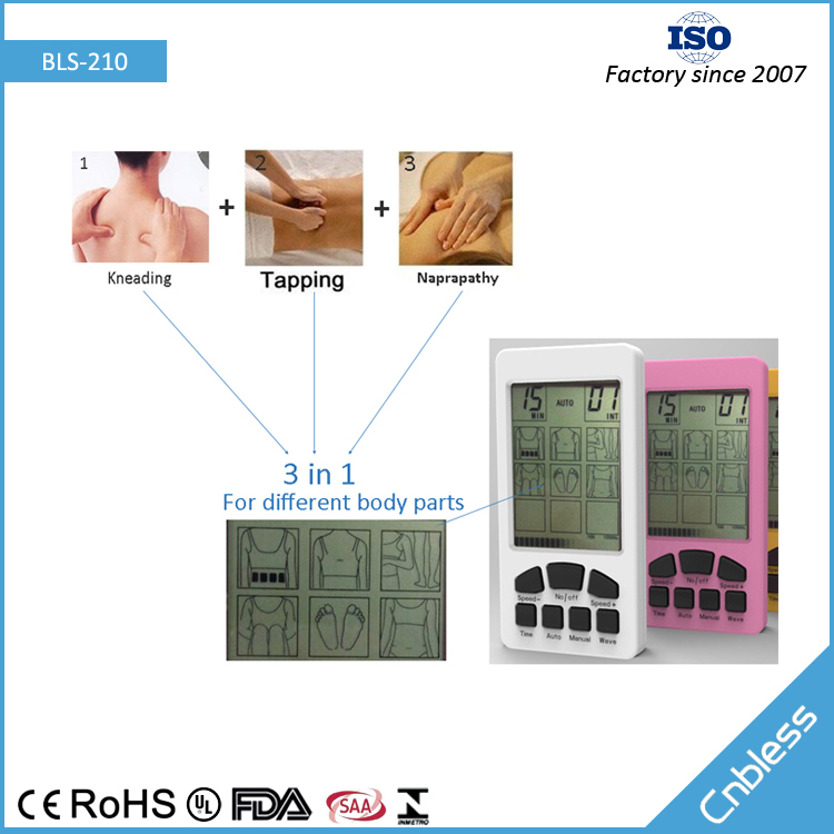 Three in one multifunctional electro acupuncture machine ,electro acupuncture device
