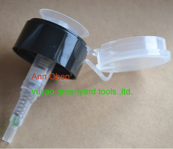 pump style nail polish remover for cosmetic bottle