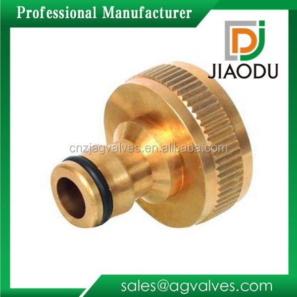 3/4'' Brass Water Pipe Fitting Hose Connectors Brass Female Quick Coupling
