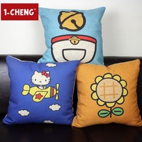Creative Cartoon Anime Hello Kitty Pillow Home Decorative Cushion Cover