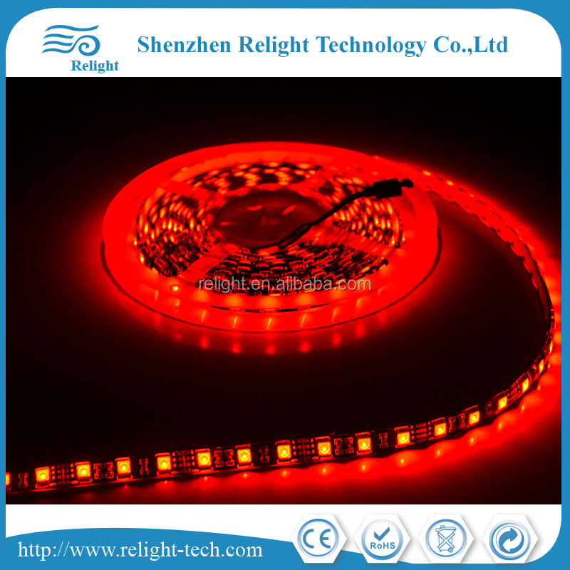 5050 150leds Sunnest RGB led light strip 5m waterproof flexible strip running light