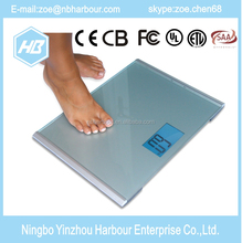 180kg Electronic Digital Multi-Function Body Fat Analyser Glass Bathroom Scale