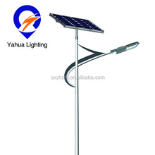 Execellent project 30w 40w 50w 60w 70w 80w 90w 100w solar led street lamp, solar panel with led light