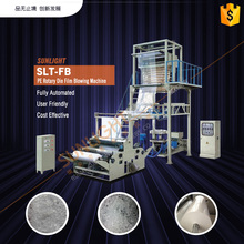 Semi-Automatic Hot Shrink Heat Shrinkable Process Blown Blowing Extruder Line Plastic Film Roll Making Machine
