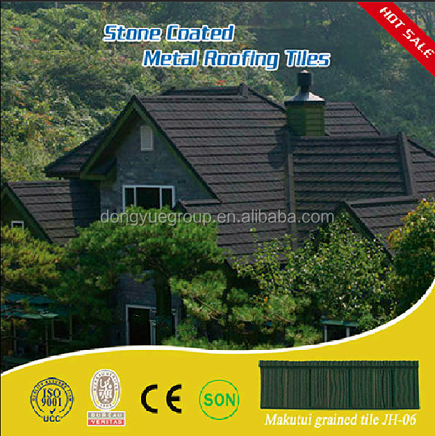 colorful stone coated metal roof tile best selling product in Nigeria