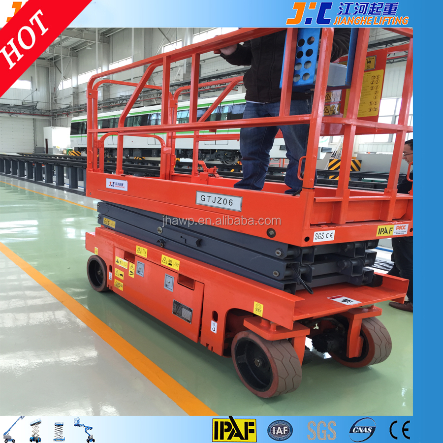 10 M Self-Propelled Scissor Crane For Window Cleaning